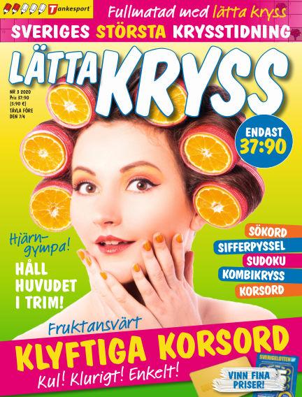 Lätta kryss February 25, 2020 00:00