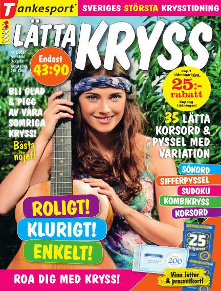 Lätta kryss July 30, 2020 00:00