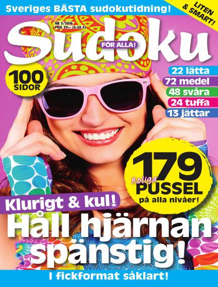 Sudoku för alla April 26, 2016 00:00