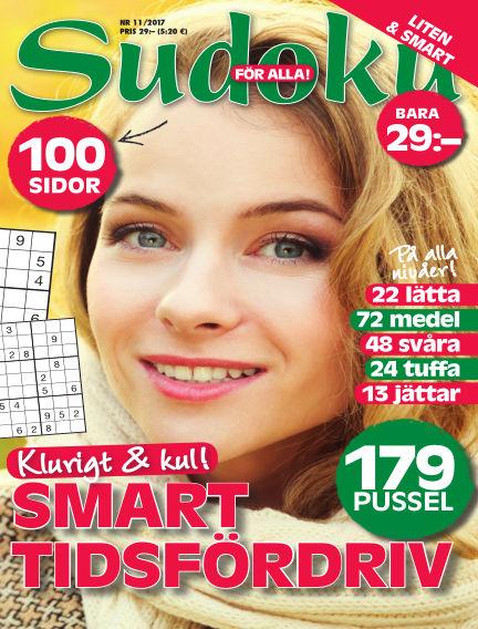 Sudoku för alla October 31, 2017 00:00