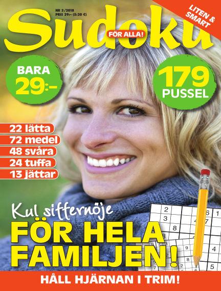 Sudoku för alla February 20, 2018 00:00