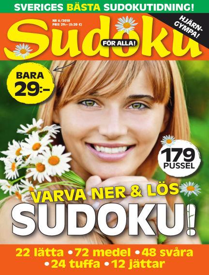 Sudoku för alla May 29, 2018 00:00