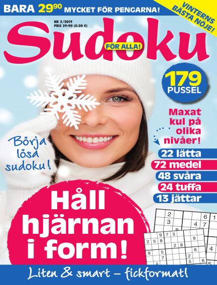 Sudoku för alla January 22, 2019 00:00