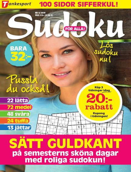Sudoku för alla July 30, 2019 00:00
