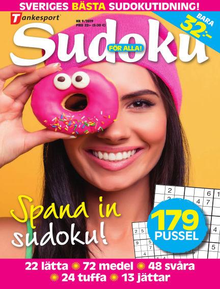 Sudoku för alla August 27, 2019 00:00