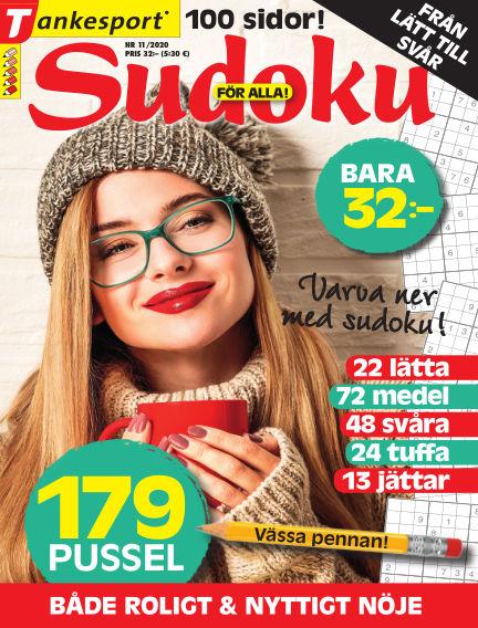 Sudoku för alla October 01, 2020 00:00