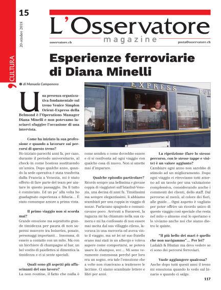 L'Osservatore Magazine October 20, 2018 00:00