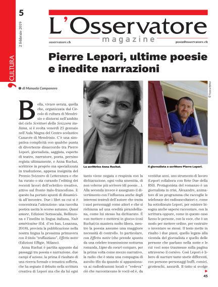 L'Osservatore February 02, 2019 00:00