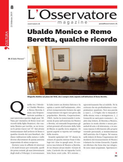 L'Osservatore Magazine February 23, 2019 00:00