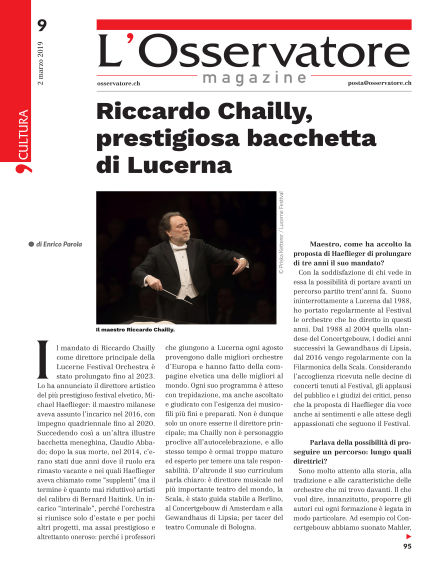 L'Osservatore Magazine March 02, 2019 00:00