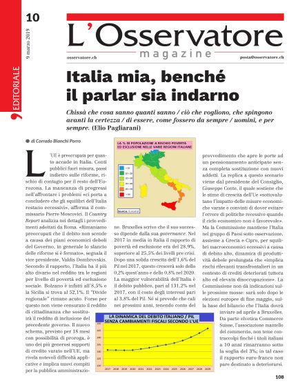 L'Osservatore Magazine March 09, 2019 00:00