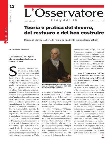 L'Osservatore Magazine March 30, 2019 00:00