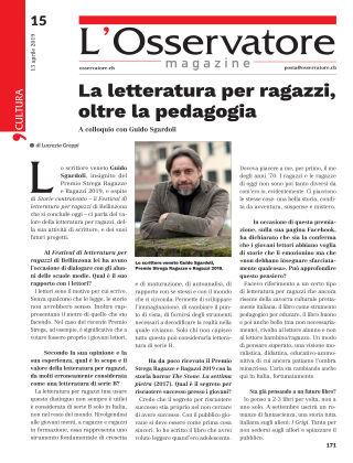 L'Osservatore 15/2019