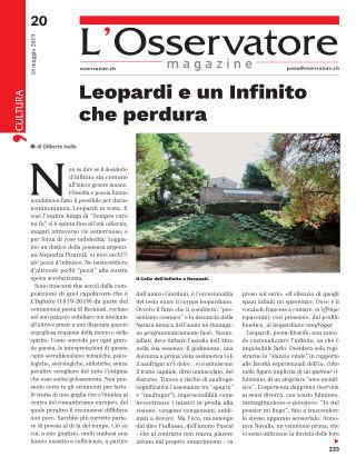 L'Osservatore 20/2019