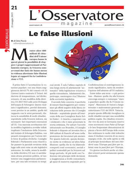 L'Osservatore Magazine May 25, 2019 00:00