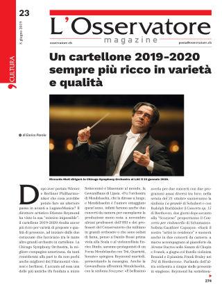 L'Osservatore 23/2019