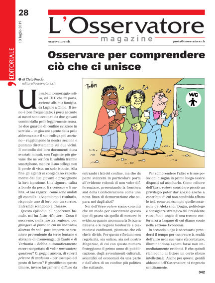 L'Osservatore Magazine July 13, 2019 00:00