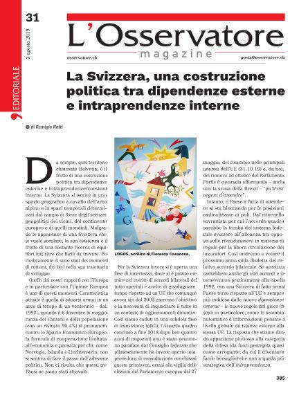 L'Osservatore Magazine August 03, 2019 00:00