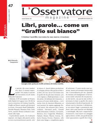 L'Osservatore 47/2019