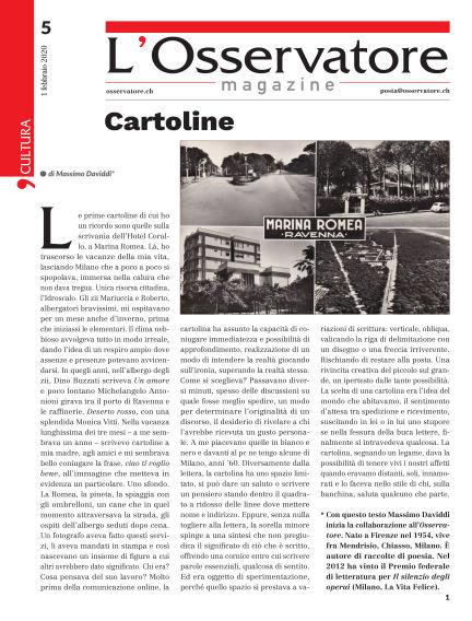 L'Osservatore Magazine February 01, 2020 00:00