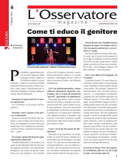 L'Osservatore Magazine February 08, 2020 00:00