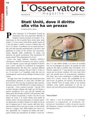 L'Osservatore Magazine 14/2020
