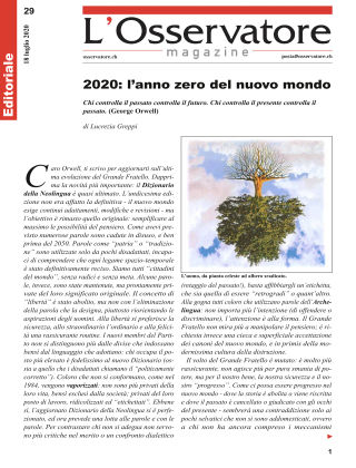 L'Osservatore 29/2020