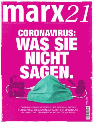 marx21 Frühjahr 2020