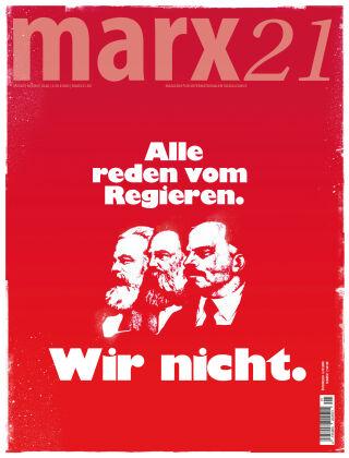 marx21 Herbst 2020