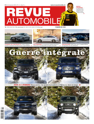 Revue Automobile Nr. 4 2019