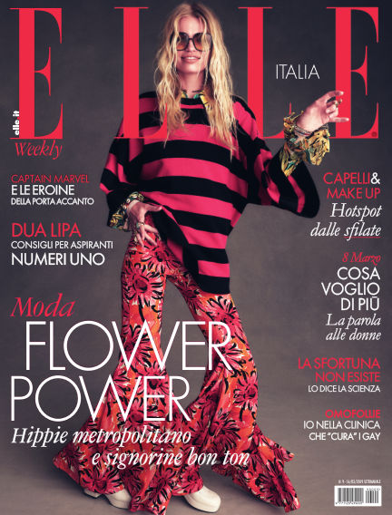 ELLE Italy March 07, 2019 00:00