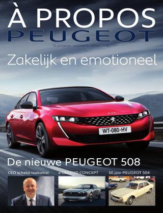 À Propos Peugeot Najaar 2018