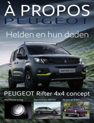 À Propos Peugeot Zomer 2018
