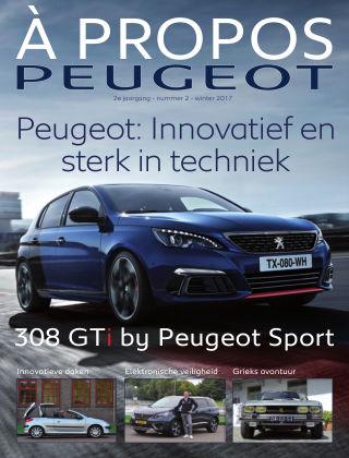 À Propos Peugeot Najaar 2017