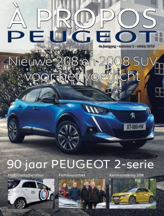À Propos Peugeot Winter 2019