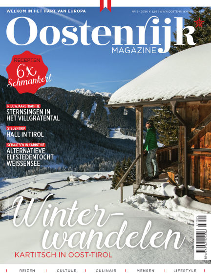 Oostenrijk Magazine November 07, 2019 00:00