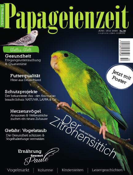 Papageienzeit June 01, 2020 00:00