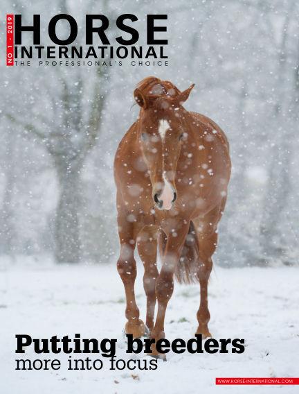 Horse International January 25, 2019 00:00