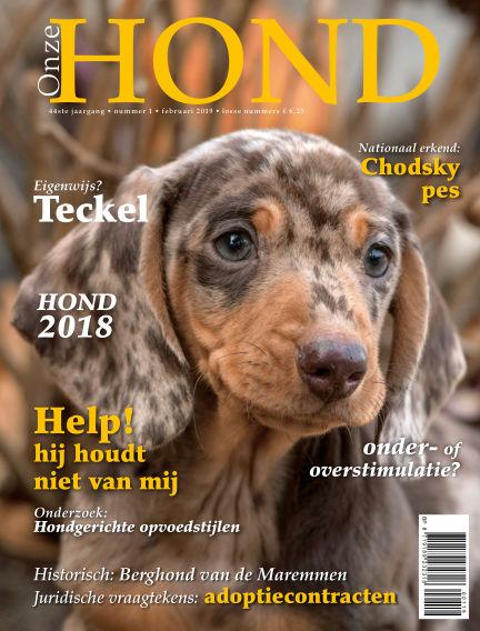 Onze Hond January 25, 2019 00:00