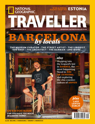 National Geographic Traveller Sept 2018