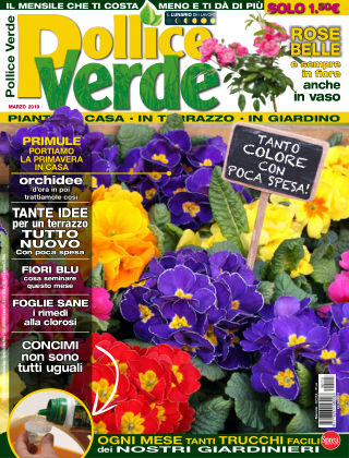 Pollice Verde Marzo 2019