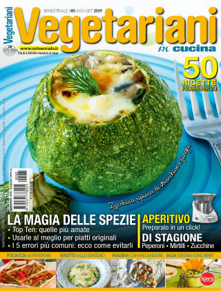 Vegetariani in Cucina AgostoSettembre 2019
