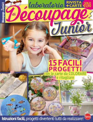Laboratorio di Decoupage Junior 1