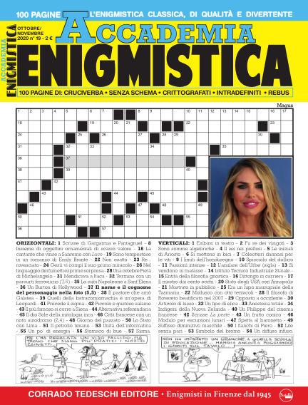 Accademia Enigmistica October 09, 2020 00:00