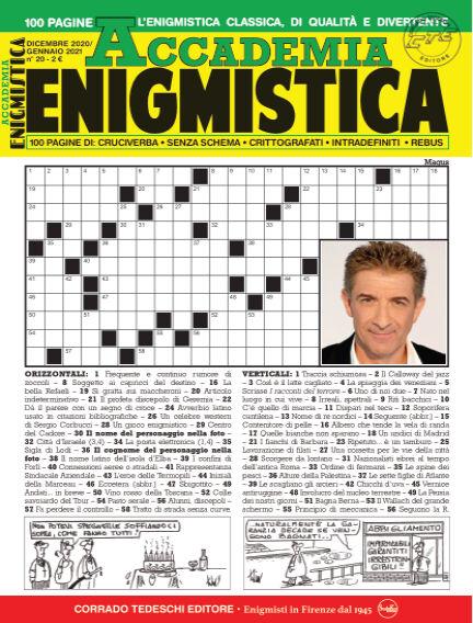 Accademia Enigmistica December 10, 2020 00:00