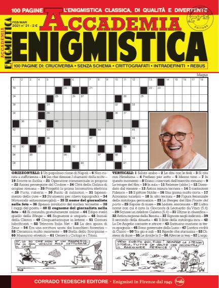Accademia Enigmistica February 10, 2021 00:00