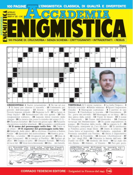 Accademia Enigmistica April 09, 2021 00:00