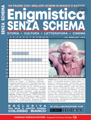 Enigmistica Senza Schema 33