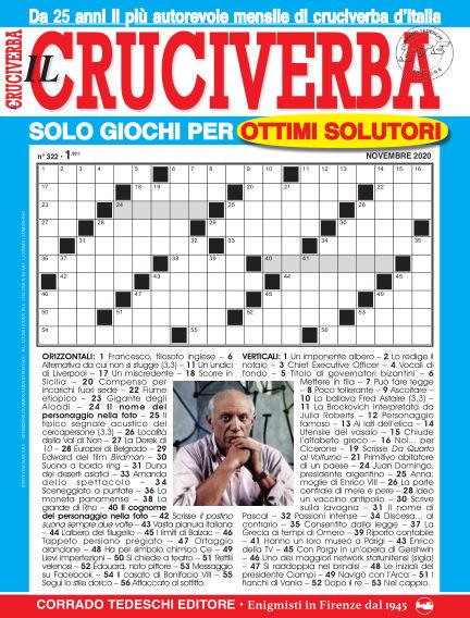 Il Cruciverba October 27, 2020 00:00