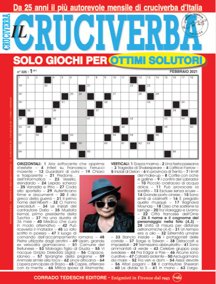 Il Cruciverba January 27, 2021 00:00